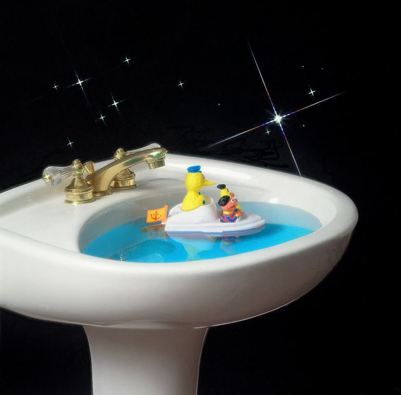 studio sink ad for toy